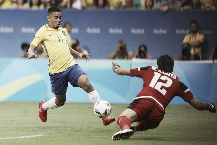 Gabriel Jesus reconhece mau desempenho, mas não relaciona à transferência para o Manchester City