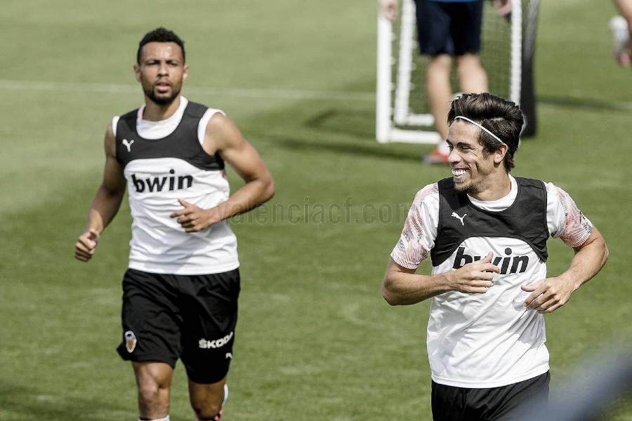 Gabriel Paulista vuelve a entrenar con el grupo