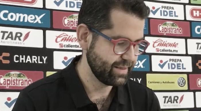 """Gabriel Solares: """"Atlante busca subir deportivamente"""""""
