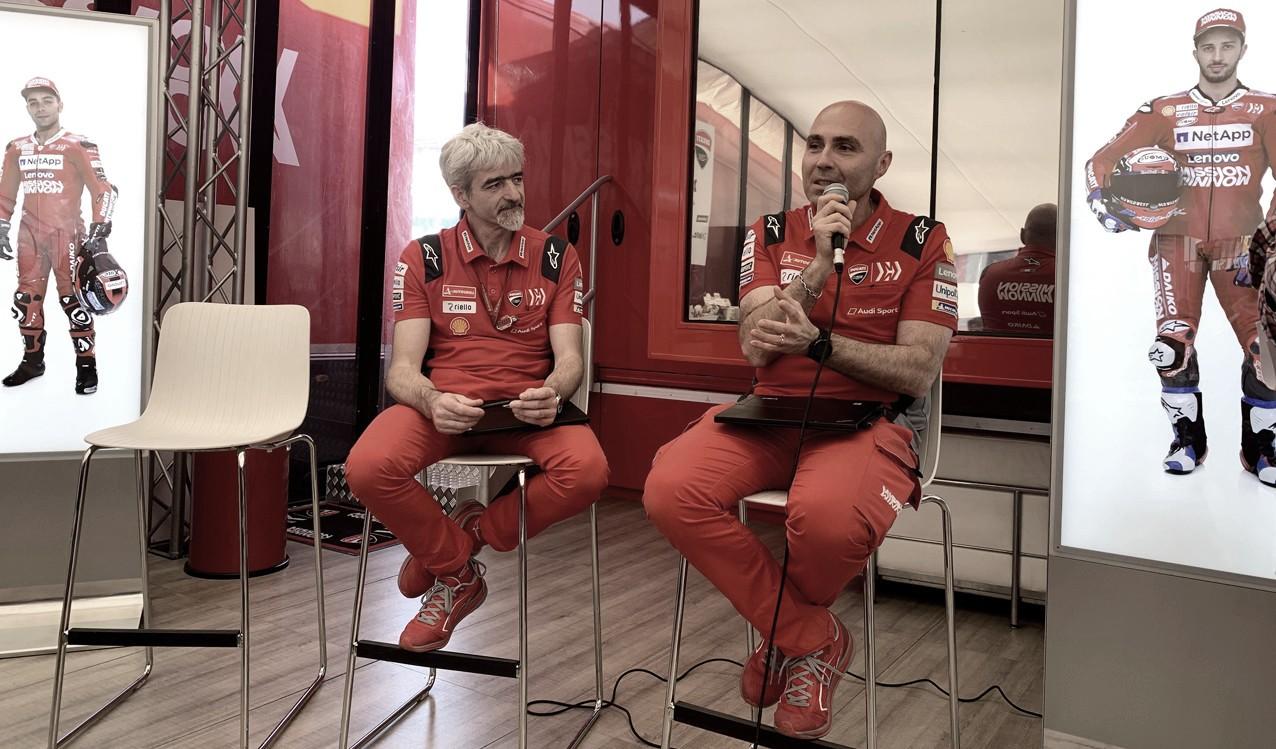 """Conti: """"Me gustaría tener más libertad con el software de Ducati"""""""