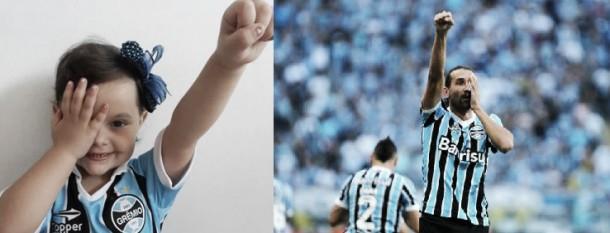 Gabrieli e o lance mais bonito de Barcos com a camisa do Grêmio