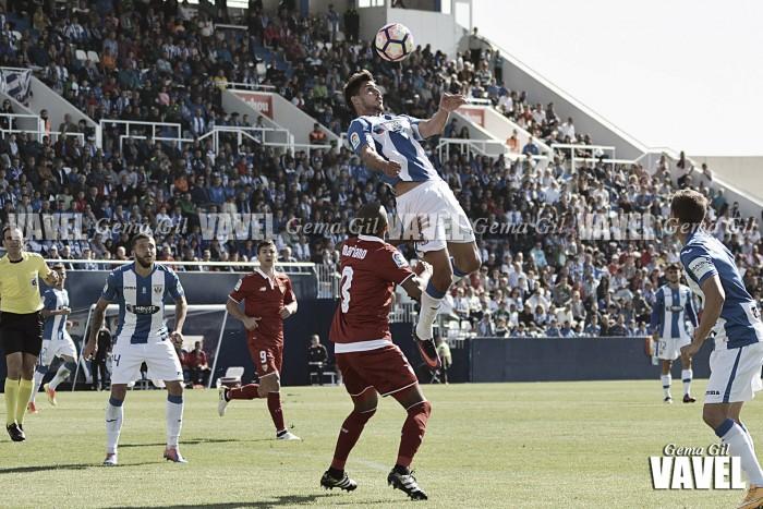 Leganés - Sevilla: puntuaciones Leganés, jornada 8