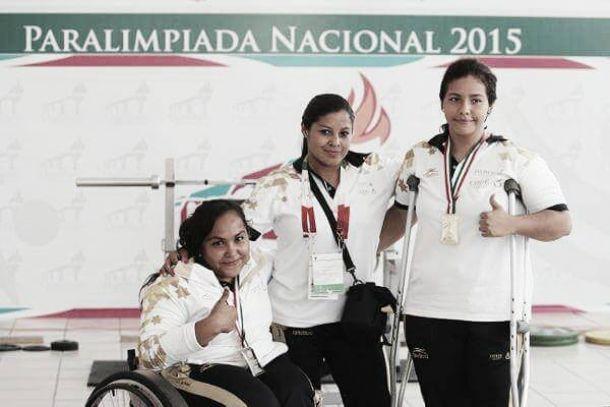 En Paralimpiada Nacional, Gaby Valadez gana oro en halterofilia