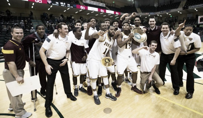 Great Alaska Shootout: Jon Severe's last-second layup gives Iona Gaels dramatic 75-73 win over Nevada Wolfpack to take championship