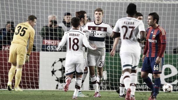 Diretta partita Bayern Monaco - CSKA Mosca, risultati live Champions League