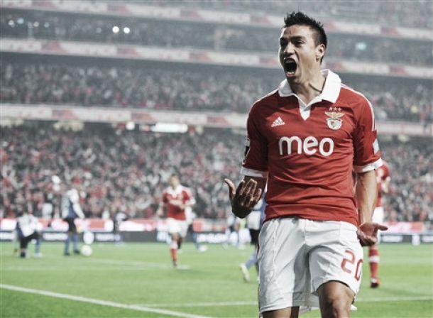 Gaitán com alta probabilidade desfalcar Benfica no «derby»
