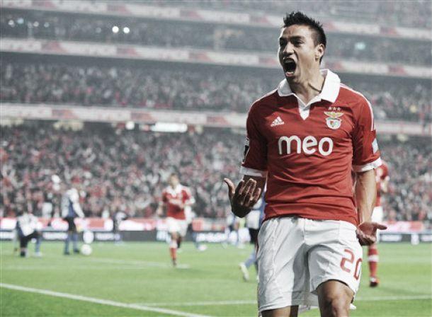 Gaitán renova com o Benfica até 2018