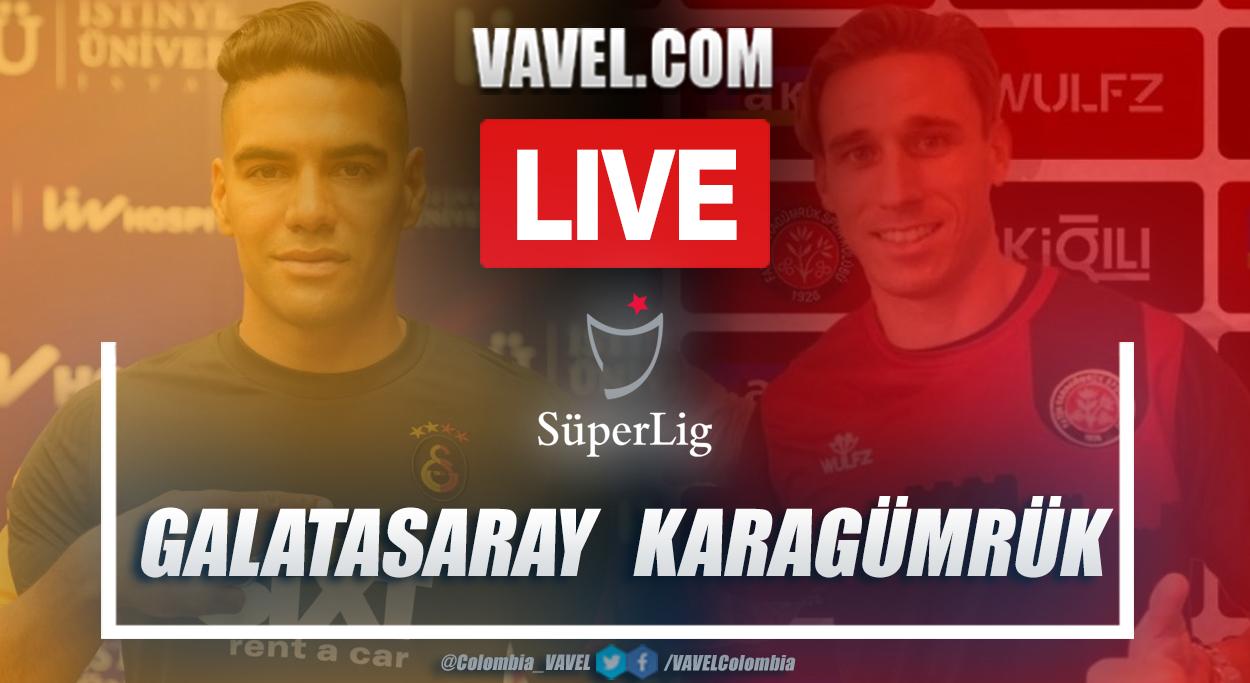 Resumen Galatasaray vs Karagümrük (1-1)en la fecha 34 por Superliga Turca 2020-2021