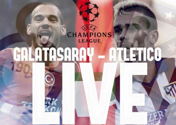 Live Galatasaray - Atletico Madrid, il risultato della partita di Champions League 2015/2016 (0-2)