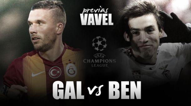 Galatasaray - Benfica: pre-partita e probabili formazioni