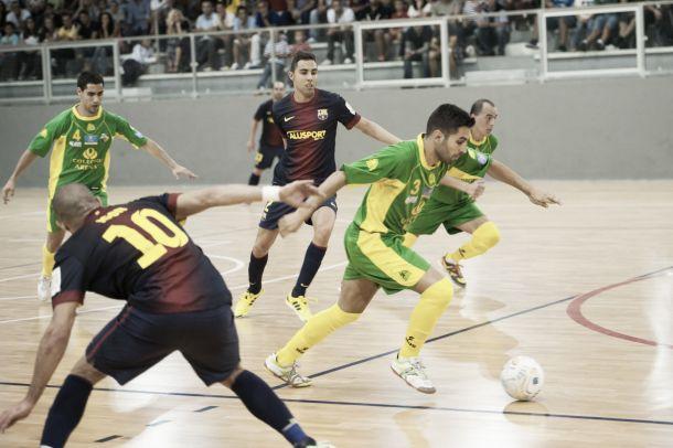 Colegios Arenas G.C. - FC Barcelona Alusport: vuelta a empezar