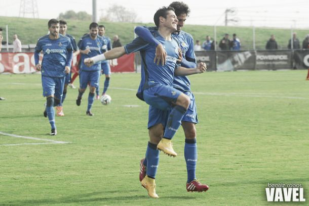 Fotos e imágenes del Getafe B 3 - 0 Fuenlabrada, grupo 2 de Segunda Division B