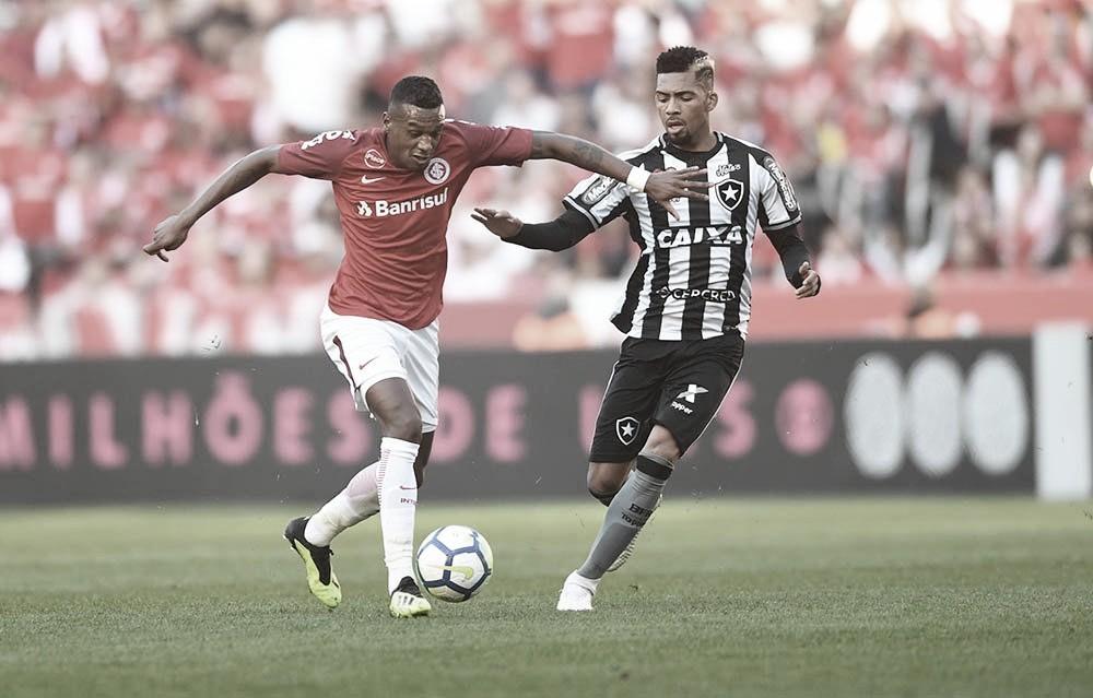 Com time reserva, Internacional recebe o Botafogo no Beira-Rio