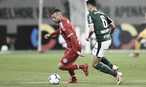 Na briga pelas primeiras posições, Internacional e Palmeiras se enfrentam no Beira-Rio