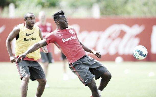Internacional treina forte para enfrentar Goiás e zagueiro Paulão pede compactação à equipe