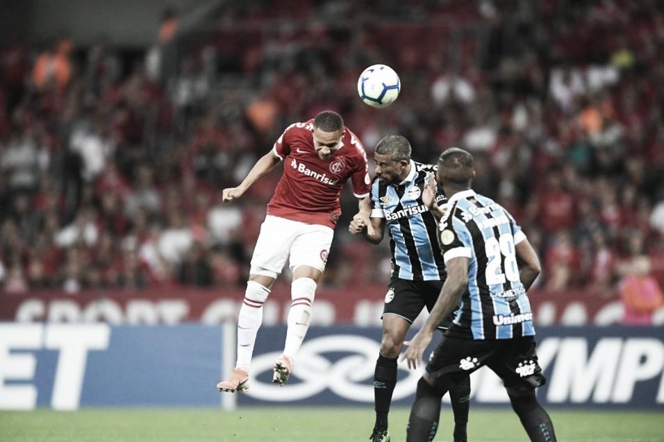Equilíbrio e falta de criatividade marcam o empate no clássico entre Inter e Grêmio