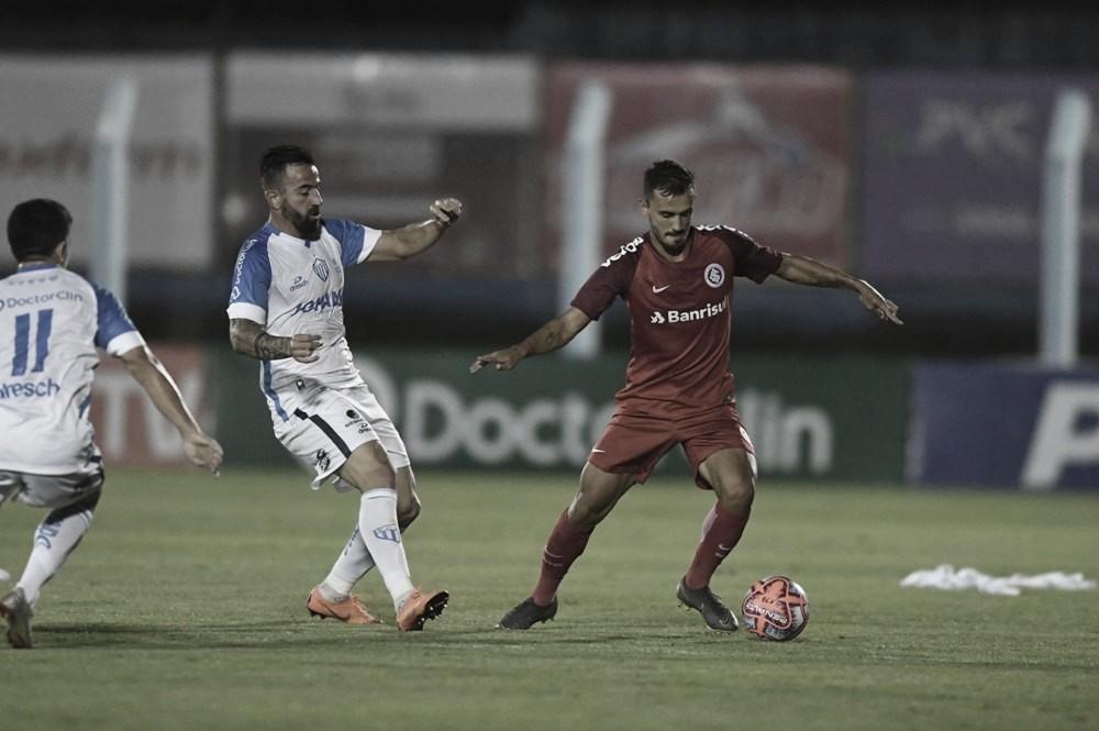 Resultado e gols de Internacional 0 x 1 Novo Hamburgo pelo Gauchão