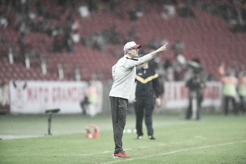 """Depois de bater o Paysandu, Odair Hellmann demonstra cautela: """"Não tem nada resolvido"""""""