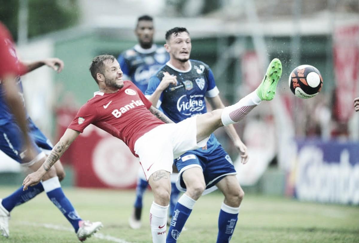 Resultado Cruzeiro-RS x Internacional no Campeonato Gaúcho (0-0)