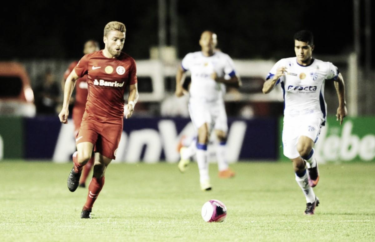 Em partida de baixa qualidade técnica, Cruzeiro e Inter empatam sem gols pelo Gauchão
