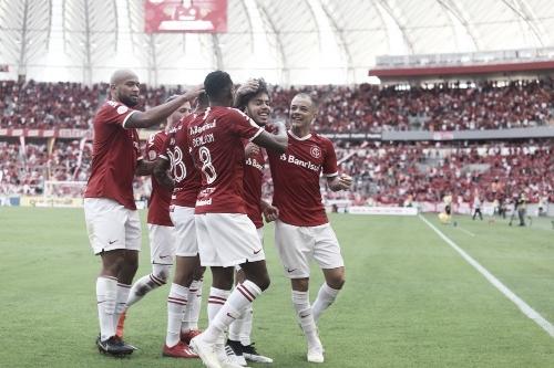 Com primeiro gol de Nonato e 100º de Guerrero, Internacional vence Cruzeiro no Beira-Rio