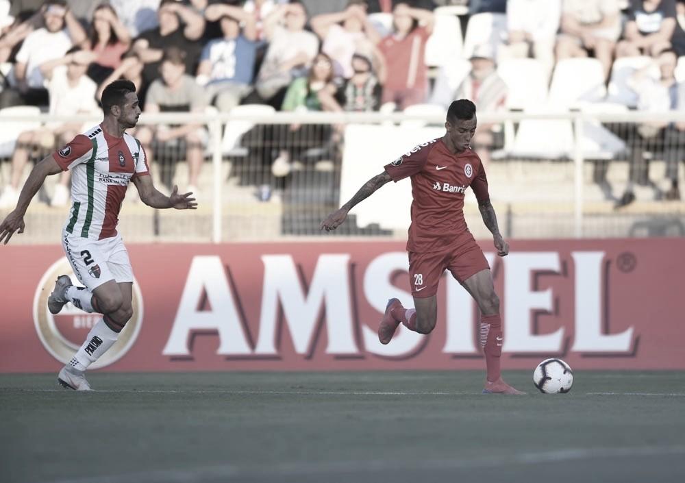 Resultado e gols de Internacional x Palestino pela Libertadores (3-2)