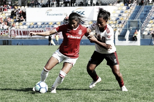 Inter sai na frente, mas Flamengo busca empate nas quartas de final do Brasileiro Feminino A1