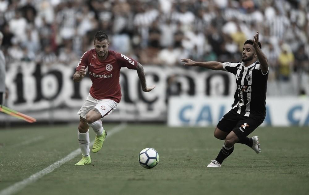 Com equipe alternativa, Internacional recebe Ceará no Beira-Rio