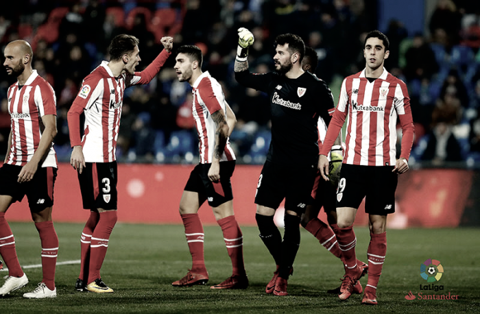 Getafe - Athletic Club: puntuaciones del Athletic Club, jornada 20 Liga Santander