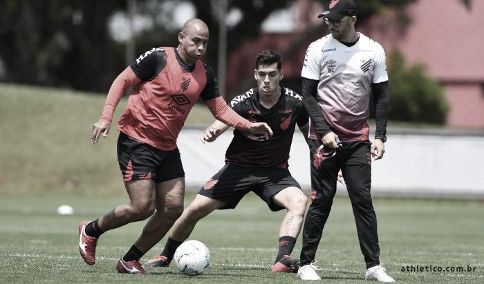 Treino do Athletico (Foto: Maurício Mano/CAP)