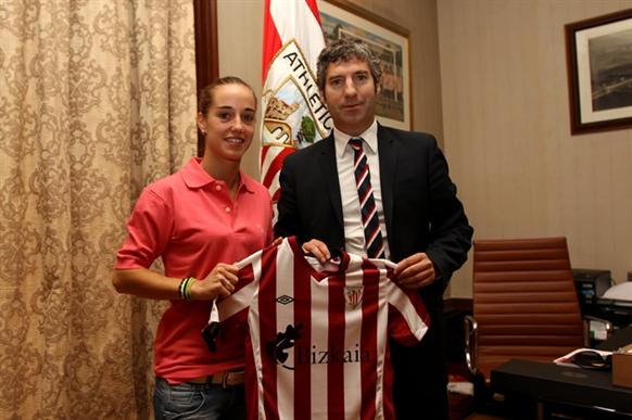 Leire Landa, nuevo fichaje del Athletic femenino