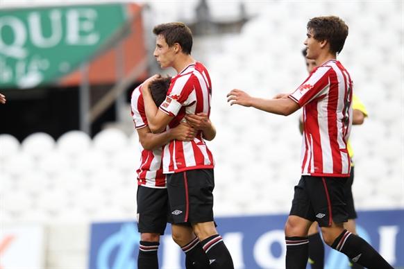 Contundente victoria del Athletic en la Champions juvenil