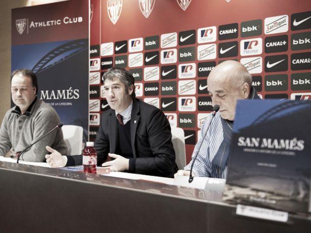 El Athletic presenta dos nuevos libros sobre San Mamés