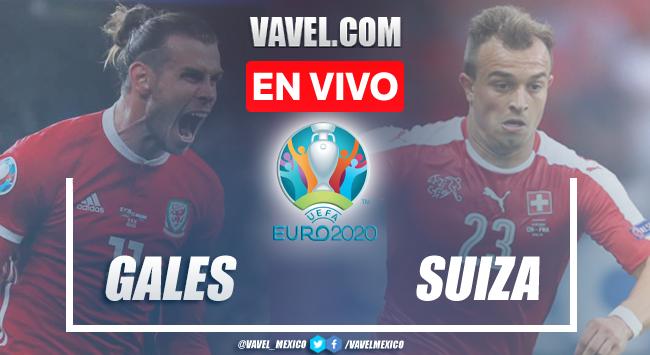 Resumen y goles: Gales 1-1 Suiza en Fase de Grupos de Euro 2020