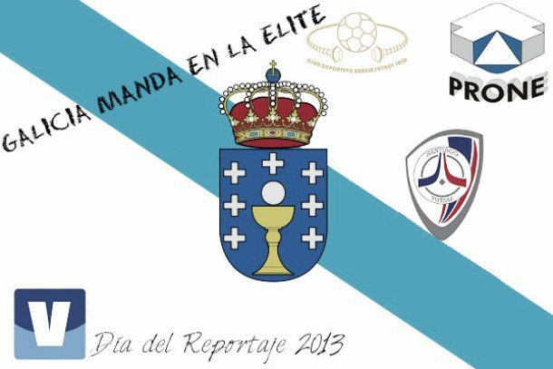 Galicia manda en la élite