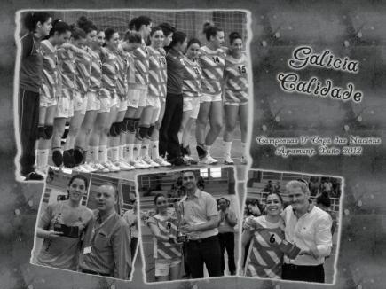 El balonmano femenino sitúa a Galicia en la élite