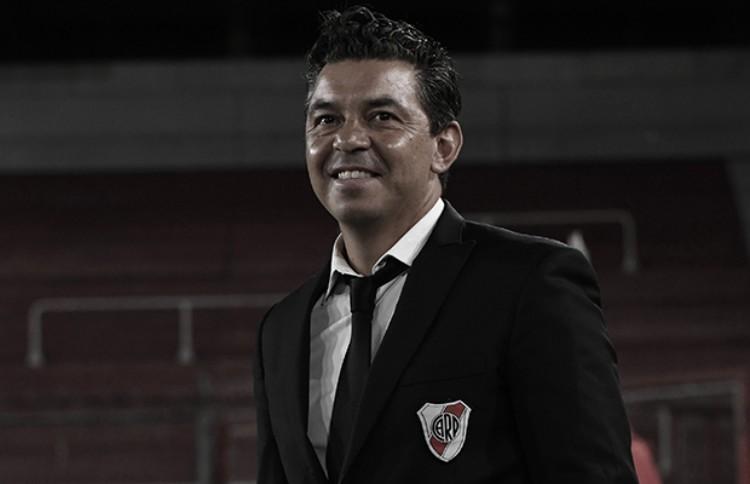 """Marcelo Gallardo: """"Hicimos méritos para ganar, somos el equipo que intenta y propone"""""""