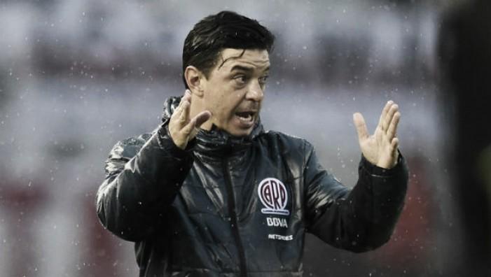 """Gallardo: """"No fuimos inteligentes para mantener el resultado"""""""