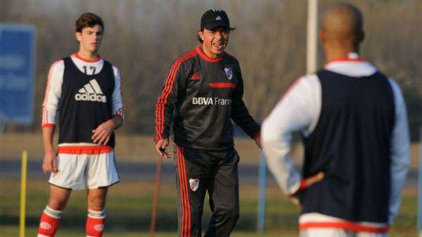 """Gallardo: """"Mi equipo habla en la cancha"""""""