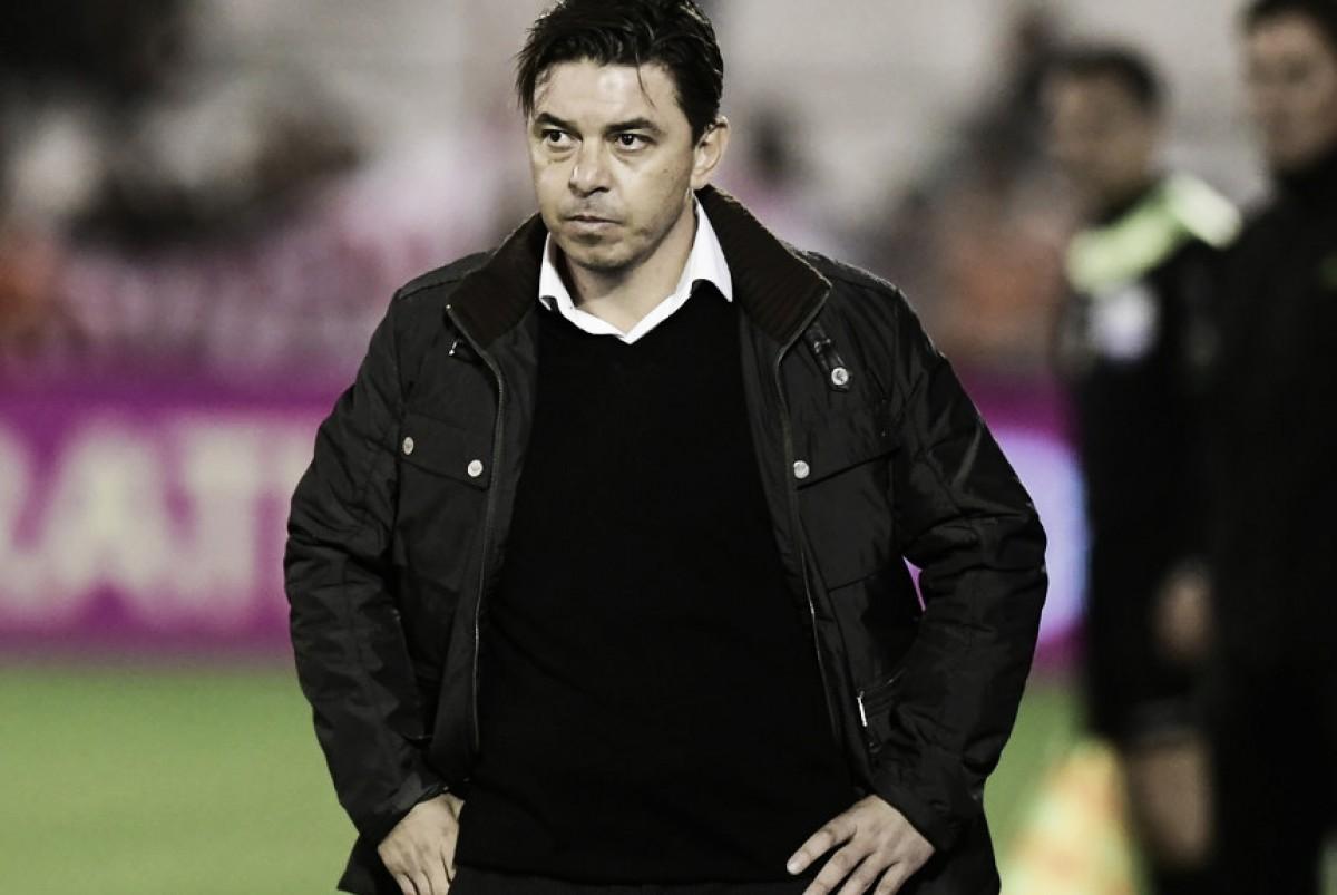 Gallardo: ''El partido fue horrible''