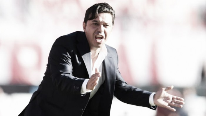 """Gallardo: """"Los partidos se ganan con goles"""""""