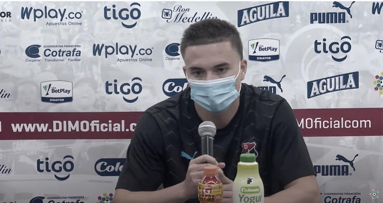 """Juan Pablo Gallego: """"Marcar mi primer gol como profesional es una alegría inmensa"""""""