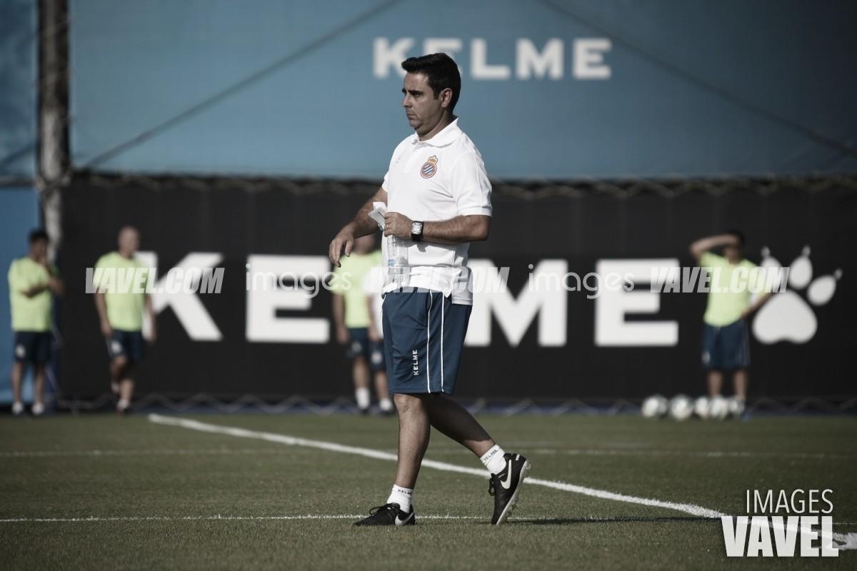 """David Gallego: """"El resultado es muy bueno pero en el fútbol he visto de todo"""""""