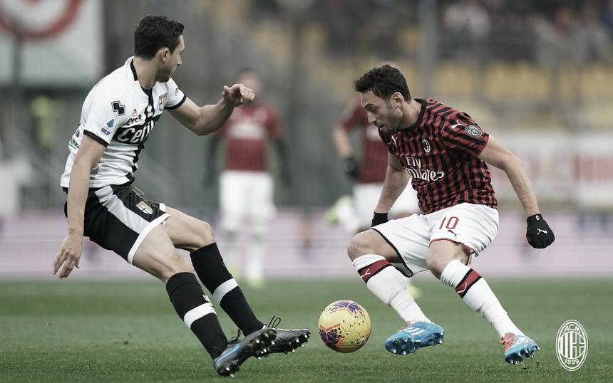 Invicto desde reinício da Serie A, Milan enfrenta Parma em má fase