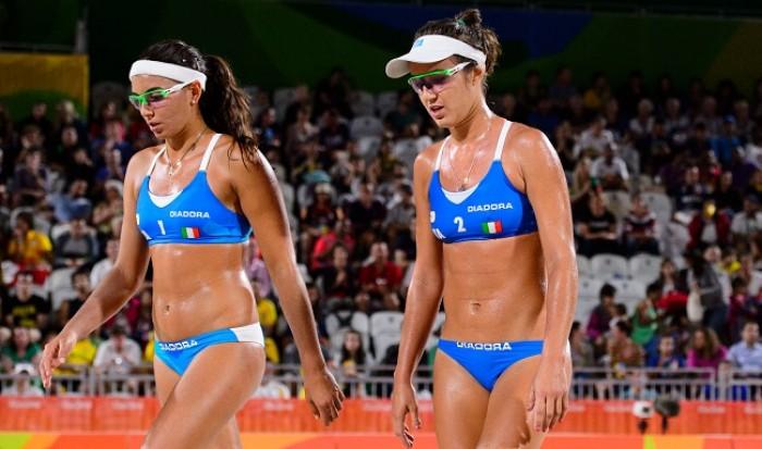 Risultato Beach Volley femminile Rio 2016: Menegatti-Giombini (Ita) si impongono su Nada-Elghobashy (Egy)