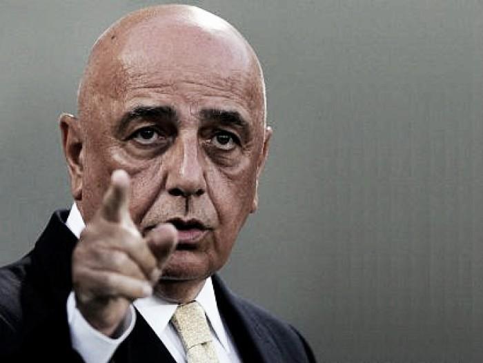 """Galliani: """"Ecco come è andata con Niang, no a Perotti, può uscire solo Nocerino"""""""