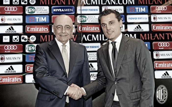 Perfeccionista e ambicioso, Montella é apresentado no Milan visando retorno à Europa