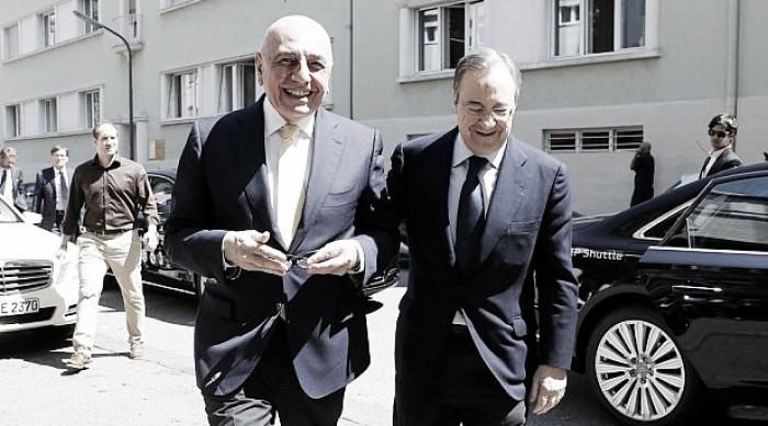 Real Madrid - Florentino Perez col botto: vuole Galliani nel CDA dei blancos