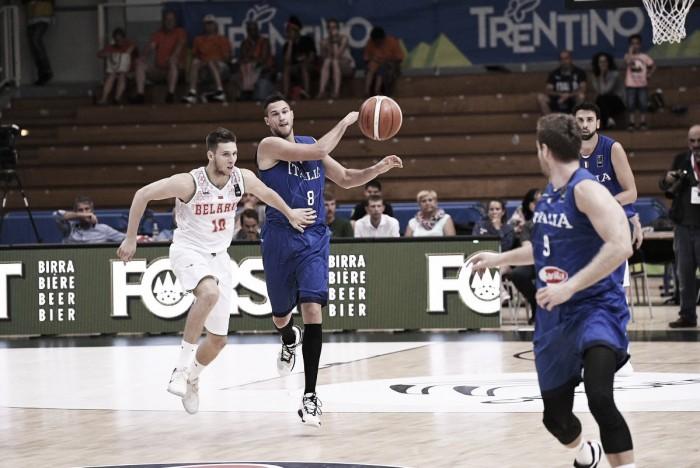 Italbasket, buona la prima: Bielorussia ko 96-36, Messina prende nota
