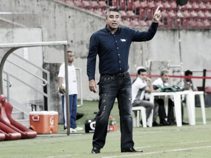"""Gallo elogia atuação do Náutico, mas lamenta revés diante do Vasco: """"Poderíamos mais"""""""